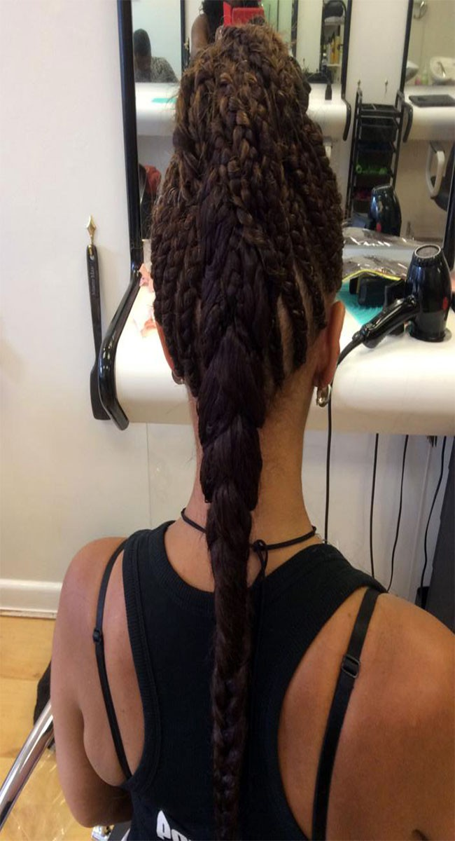 Individuality Corn Rows by Afrosia